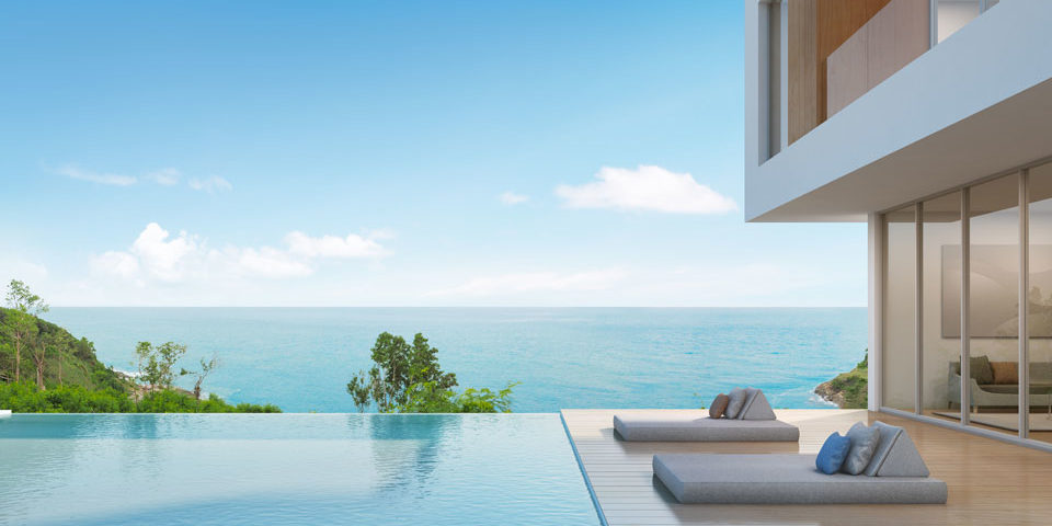 Immobilier en bord de mer