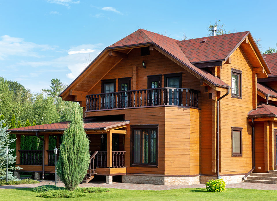 maison en bois